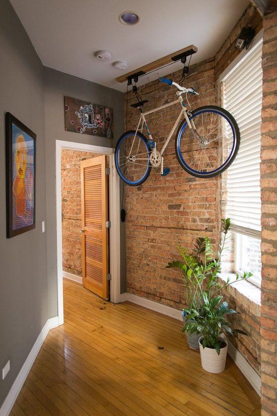 Bicicleta em apartamento